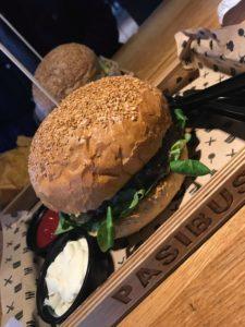Burger Oscypek Pasibus